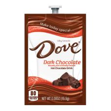 Dove Dark Chocolate Hot Chocolate Single