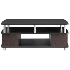 Ameriwood Home Coffee Table CherryBlack