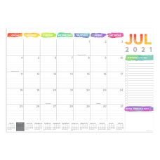 TF Publishing Medium Monthly Desk Pad