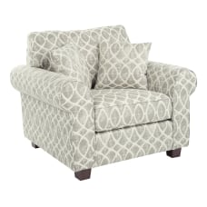 Office Star Rolled Armchair With 2