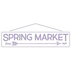 Amscan Spring Market Street Signs 5