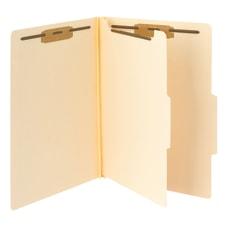 Smead Manila Classification Folders 1 Divider