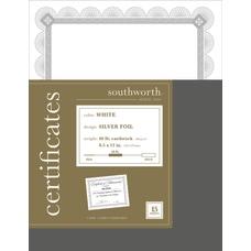 Southworth Premium Weight Foil Certificates 8