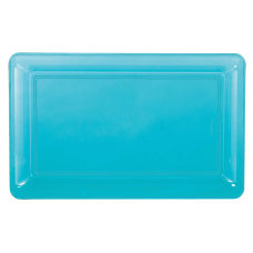 Amscan Plastic Rectangular Trays 9 14