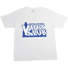 Youth Cotton T Shirt White