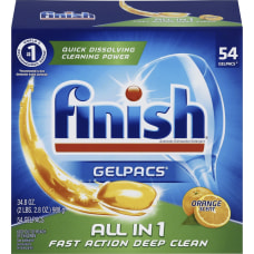 Finish All n 1 Detergent Gelpacs