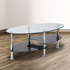 Flash Furniture Glass Coffee Table 16