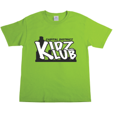 Youth Cotton T Shirt Color