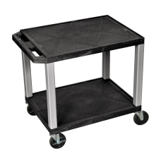Tuffy AudioVisual Cart BlackNickel