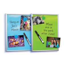 FORAY Magnetic Dry Erase Whiteboard 8