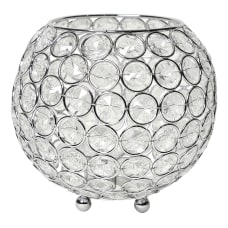 Elegant Designs Elipse Crystal Bowl 5