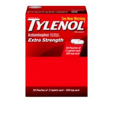 TYLENOL Extra Strength Caplets Fever Reducer