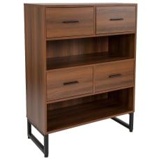 Flash Furniture 42 H 2 Shelf