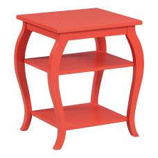 Powell Lahana 2 Shelf Side Table