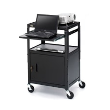 Bretford Basics Adjustable Projector Cart with