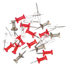 Office Depot Brand Pushpins Irregular 12