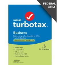 TurboTax Desktop Business 2020 Federal Return