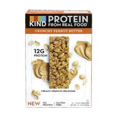 KIND Protein Bar Crunchy Peanut Butter