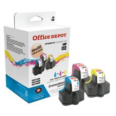 Office Depot Brand OD02CMY Remanufactured Tri