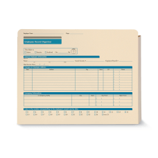 ComplyRight Employee Record Organizers 9 12