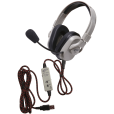 Califone Washable Titanium Stereo Over The