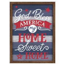 Amscan Patriotic God Bless America Sign15