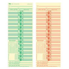 TOPS Time Cards Replaces Original Card