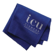 ICU Microfiber Cleaning Cloth Blue