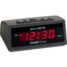 AcuRite 5 inch Intelli Time Alarm
