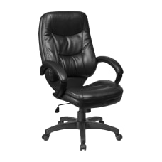 Lorell Westlake Bonded Leather High Back