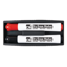 Charles Leonard Inc Magnetic Whiteboard Erasers