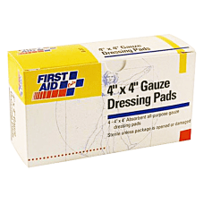 First Aid Only 3 Ply Gauze