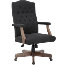 Boss Office Products Ergonomic Linen High