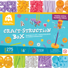 Goldie Blox Craft Struction Box Case
