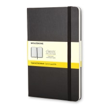 Moleskine Classic Squared Hard Cover Notebook
