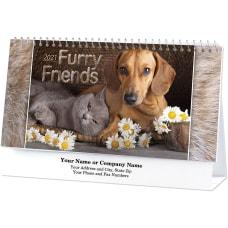 Furry Friends Desk Calendar
