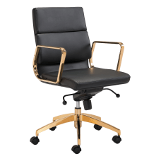 Zuo Modern Scientist Mid Back Office