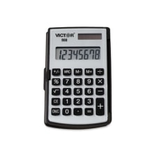 Victor 908 Handheld Calculator Big Display