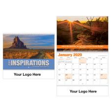 Inspirations Spiral Wall Calendar