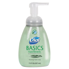 Dial Basics Foam Hand Soap Unscented