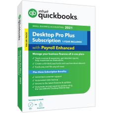 Intuit QuickBooks Desktop Pro Plus With