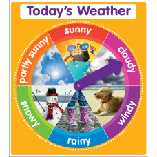 Color Your Classroom Chart Todays Weather