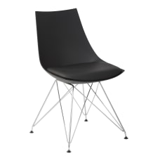 Ave Six Eiffel Bistro Chairs BlackChrome
