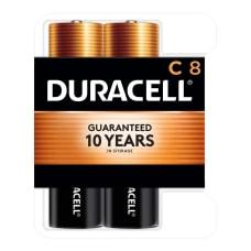 Duracell Coppertop Alkaline C Batteries Pack