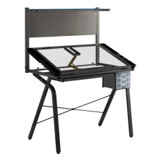 Monarch Specialties Adjustable Drafting Table Rectangular