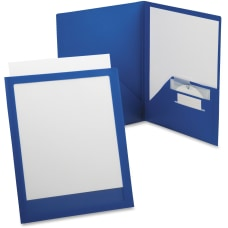 TOPS ViewFolio Letter Pocket Folder 8