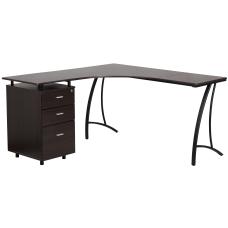 Flash Furniture Contemporary Laminate L Shape