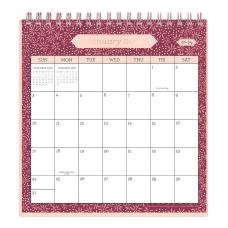 Blue Sky Monthly Desk Calendar With