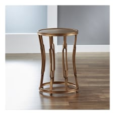 FirsTime Co Hourglass Side Table Round