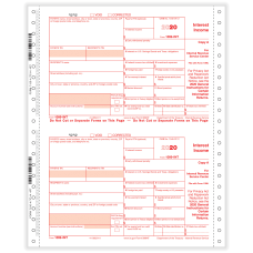 ComplyRight 1099 INT Tax Forms 4